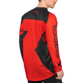 O'Neal Matrix Koszulka rowerowa z zamkiem błyskawicznym Ridewear Mężczyźni, red